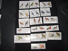 Aitutaki :1981/82 Birds set of 36 stamps UMM