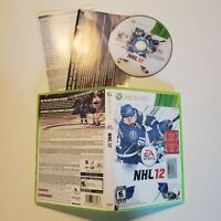 NHL 12 - Xbox 360 - B+ Condition - Complete - Tested