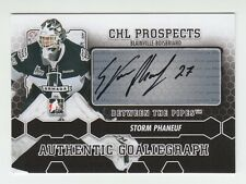 (56782) 2012-13 ITG BETWEEN THE PIPES STORM PHANEUF AUTOGRAPH #A-SP