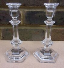 More details for pair of baccarat versailles crystal candlesticks