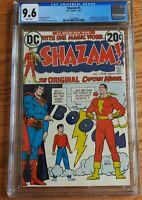 SHAZAM #1 ( DC 1973 ) CGC 9.6 1ST APP CAPTAIN MARVEL  ORIGIN RETOLD