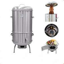NEW CHARCOAL BBQ ROAST SMOKER GRILL CYPRUS TANDOORI BARBEQUE OVEN - 003
