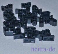 LEGO Technik - 20 Verbinder, schwarz, 1x2x1 2/3  mit Fuss / 32530 NEUWARE