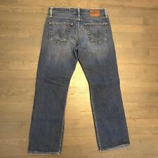 AG Adriano Goldschmied  The Hero Relaxed  Stretch Denim Jeans Men's 32 USA MADE