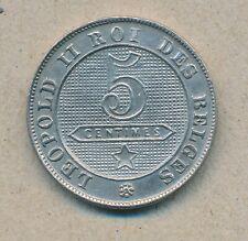 België/Belgique 5 ct. Leopold II 1898 Fr Morin 248 (13492)
