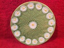 Antique German Majolica Art Nouveau Daisy Plate Schramberg, gm34