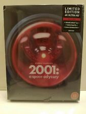 2001 A Space Odyssey Titans Of Cult 4K (4K+Blu-ray Region-Free Zavvi Steelbook)