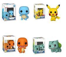 FUNKO POP Pokemon Pikachu Bulbasaur Action Figures Collection Kids Box Gift Toys