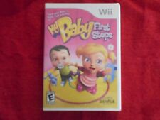 MY BABY FIRST STEPS NINTENDO Wii FACTORY SEALED!!!  FREE FAST SHIP!!!  L@@K!!!