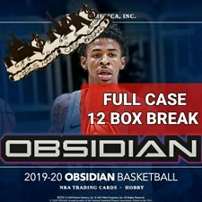 MEMPHIS GRIZZLIES 2019-20 OBSIDIAN BASKETBALL FULL CASE 12 BOX BREAK #1