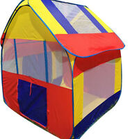 Children Four-square House Tent For Kids Game Playhouse City House Play Tent