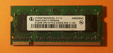 512MB, Infineon HYS64T64020HDL-3.7-A DDR2 SDRAM, 533 mhz, SODIMM 200 pines habló