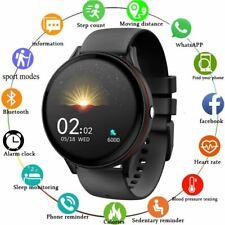 LIGE Full Touch Screen Men Smart Watches Sport Fitness Watch