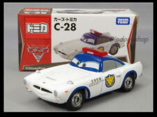 Tomica Disney C-28 CARS 2 Finn McMissile Airport Security Type Tomy TAKARA