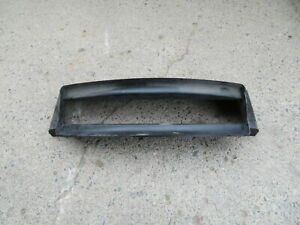 00 Porsche Boxster S 986 #1156 Air Duct, Center Radiator Assembly, 99657514102