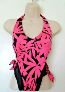 Playmate Hot Pink and Black Swimming Costume Size 12 uk (mm)