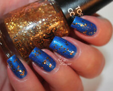 NEW! Salon Perfect SP Nail Polish Lacquer in FOOL'S GOLD ~ Glitter