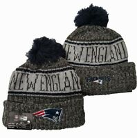 New England Patriots New Era NFL Knit Hat On Field Sideline Beanie Hat