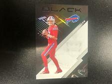 Josh Allen 2020 Panini Black Silver Parallel #32/99 Buffalo Bills T@