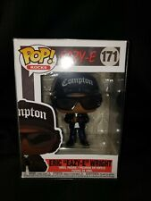 Funko Pop Rocks Eazy-E Eric Wright N.W.A New Mint W/Clear Protector & Sorter Box