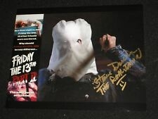 STEVE DASH Signed Jason Voorhees 8X10 Photo Autograph FRIDAY THE 13TH Part 2 A