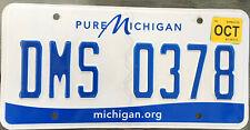 🌟🌟🎶 AUTHENTIC USA 2015's MICHIGAN LICENSE PLATE. MICHIGAN.ORG  PURE MICHIGAN