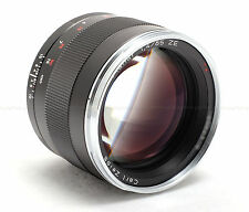 ZEISS 85MM F/1.4 ZE PLANAR T* CANON EF MOUNT NEW