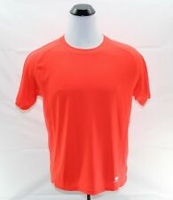 Everlast EverDri Boxing Shirt Short Sleeve Gym Training Men's Size L Orange