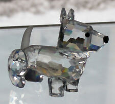 "SCOTS TERRIER crystal figurine SWAROVSKI 2.6"" tall made in Austria #158-416 NEW"