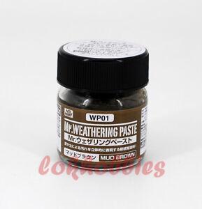 MR Hobby Color Gunze GSI Creos MR Weathering Paste Mud Brown WP01 40ml
