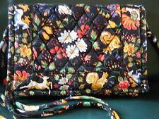 VERA BRADLEY Elite Shoulder Bag TAVERN ON THE GREEN  New, Retired, Made in USA!
