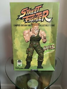 "Ron English Street fighter SDCC 2019 Guile Mindstyle Grin 15"" Exclusive"