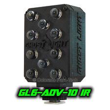 "Ghost Light â""¢ Gl6-Adv Ir Infrared Led Night Vision Camera Illuminator - Black"