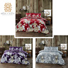 Flannelette LAURA STAG 100% Brushed Cotton Duvet Cover Pillow Case Bedding Set