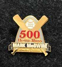 Mark McGwire 500 HR Pin - LE of 1,000 /St. Louis Cardinals Pin