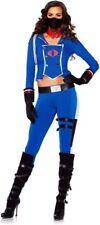 COBRA GIRL Adult Female GI JOE Costume Halloween Cosplay Comic Con Medium