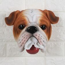 Wall Mount Bathroom Toilet Roll Paper Holder Resin Animal Statue Home Decoration