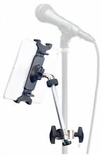 Smart Phone and Tablet Holder for Mic Stands with Arm