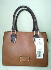 dd71873dd8 NEW GUSSACI VEGAN LEATHER COGNAC COLOR HAND BAG PURSE SHOULDER BAG