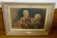 John Neagle Sketch for the Philadelphia Museum Oil On Paper On Artist Board