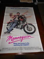 MANNEQUIN (1987) ANDREW McCARTHY ORIGINAL ONE SHEET POSTER