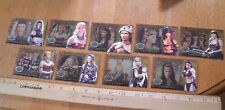 Xena Amazon Warriors card set AW1-AW9 set complete insert cards