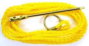 Eagle Claw Fishing Heavy Duty Polycord Stringer 7 Feet NEW