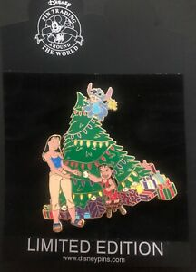 Disney Trading Pin Lilo & Stich Scented Christmas Limited Edition 500 99019