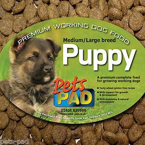 Premium Complete Puppy Food, Wheat Gluten Free, plus contains Probiotics, 15kg