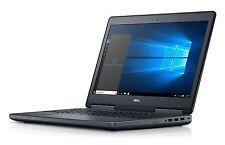 """Dell Precision M7510 LAPTOP XEON E3-1535M 2GB M1000 500GB 16GB 1080P CAM 15.6"""" B"""