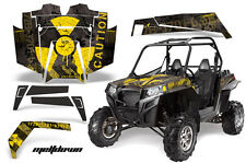 AMR Racing Polaris RZR 900XP Sticker Graphic Kit Decal UTV Parts 11-14 MELTDWN Y
