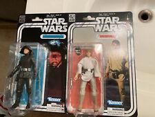Hasbro Star Wars Black Series Luke & Death Star Commander 40th anniv 6? Figures