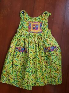 Handmade Wild Fun Girls Dress Size 7