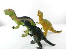 Lot of 3 Plastic Model Dinosaur Figures T-Rex